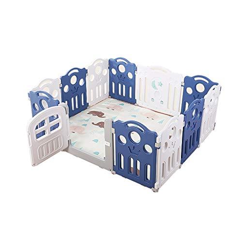 LIUFS-Recinto Giochi per Bambini Indoor Fence Parco Giochi Kindergarten Guardrail Toy Fence Safety Protection Center (Dimensioni : 16 Pieces)