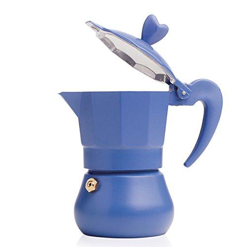 BRANDANI CAFFETTIERA LOVEXPRESS 1 TZ COBALTO ALLUMINIO H 13 X 6,5 ART. 54850