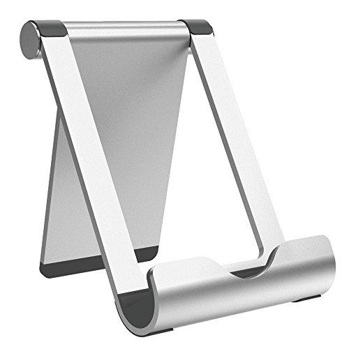 Tablette Stand, Tecboss Universal Phone Stand Faltbare Aluminium Stand Smartphone Halter für iPad iPhone Samsung E-Reader Tablet und andere Handy - Und-geräte Küchen-gadgets