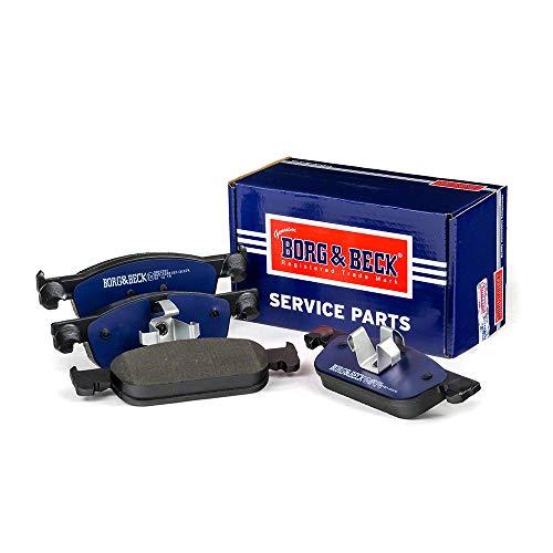 Borg & Beck BBP2591 Pastiglie per F