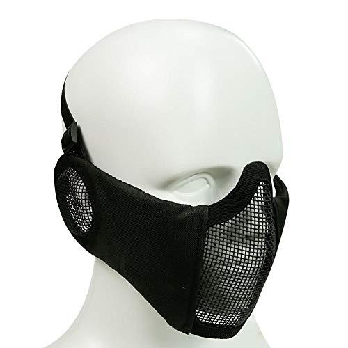 Airsoft Maske Taktische MaskeMesh Half Face Gesicht Schädel Maske Airsoft Halbmaske Ausrüstung