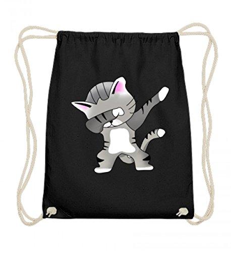 Dabbing Cat Katze Cats Kitty Kitten Dab Süß Modern - Schlichtes Und Witziges Design - Baumwoll Gymsac