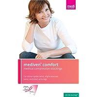 Medi Comfort Compression Pantyhose 30-40mmHg Open Toe, IV, Natural by Mediven preisvergleich bei billige-tabletten.eu
