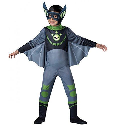 Bat - Green Costume, One Color, X-Small (Wild Kratts Kostüme)