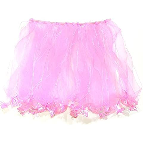 Wrapables Princess Fairy Tutu Dress-Up Skirt, Pink by Wrapables