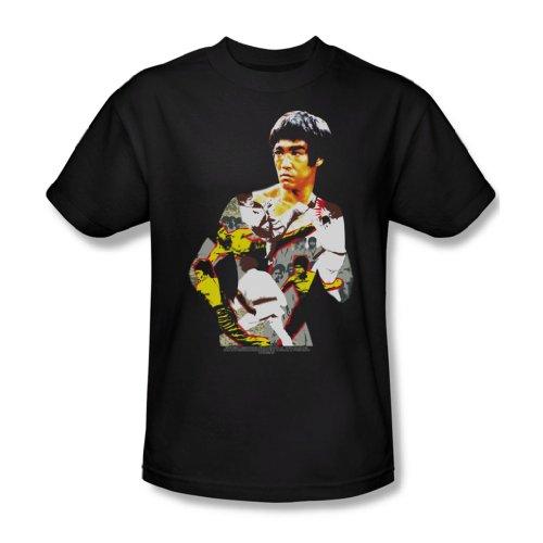 Bruce Lee - Body Of Action für Erwachsene T-Shirt in schwarz Black