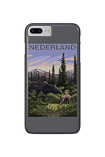 - Moose and Baby (iPhone 7 Plus Cell Phone Case, Slim Barely There) ()