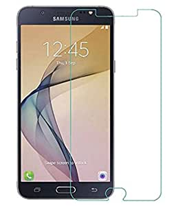 M.G.R Tempered Glass Screen Protector for Samsung Galaxy on8 / J7 (2016)