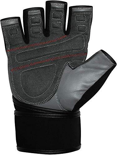 Zoom IMG-3 rdx guanti palestra pelle fitness