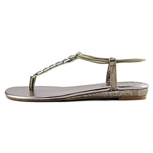 Style & Co Edith Synthétique Tongs Lead Pewter