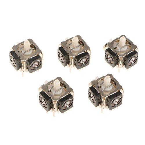 Homyl 5 Pack 3D Joystick Achsen Wireless Controller Rocker Analog Sensor Modul Ersatzteile für Xbox 360 .Material: Metall und Kunststoff Typ: D Typ Größe: Ca. 25 mm - Silber 25 Mm-modul