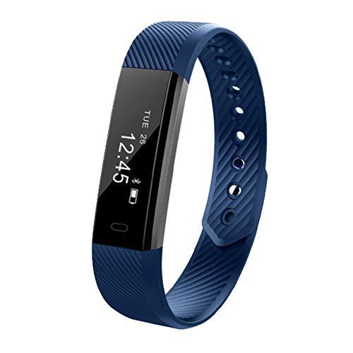 XUHAHAZNSH Intelligentes Armband/Smart Armbänder Pulsmesser Smart ArmbandFitness Tracker Smartband Wasserdicht Schrittzähler Für Telefon Bluetooth