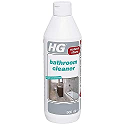 HG Bathroom Cleaner 500 ml – is a safe bathroom cleaner for natural stone which removes dirt and makes your bathroom shine