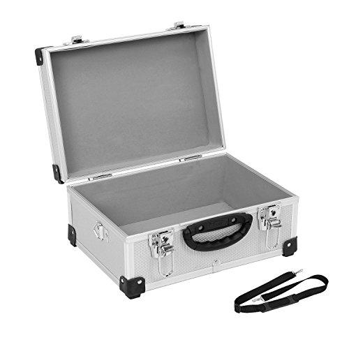 PRM10106S Alukoffer Aluminiumkiste Werkzeugkiste Lagerbox Leergewicht 2600g VARO Farbe silber