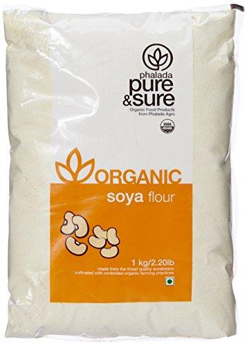 Pure & Sure Organic Soya Flour, 1kg