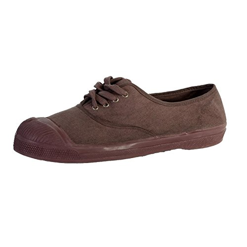 Tennis Bensimon Colorsole Mauve Gris 467 Marron