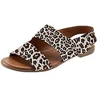 Sandalias De Verano para Mujer Sandalias con Hebilla Retro Y Parte Inferior Plana Zapatos para Mujer Romanos