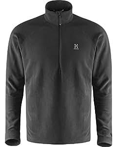 Haglöfs Men's Fleece Jacket Men S15 Astro Top -  Black - S