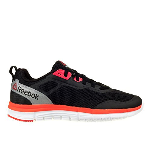 Reebok - Zquick Soul - Color: Negro-Plateado-Rojo - Size: 38.0 bh12ZPcG