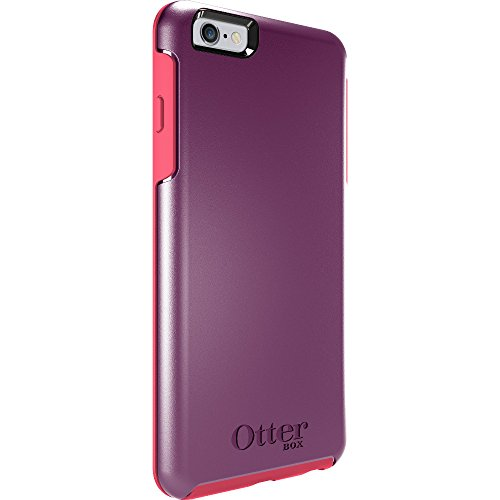 OtterBox Symmetry sturzsichere Schutzhülle für Apple iPhone 6 plus / 6s plus, Schwarz damson-berry