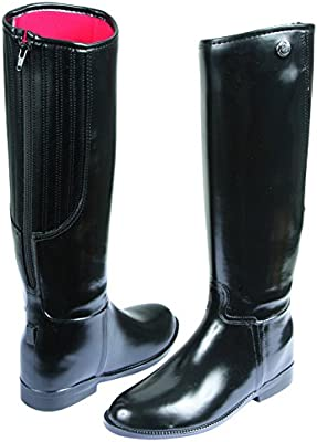 Covalliero 326643 Flexo - Botas de equitación (piel sintética, talla 43)