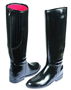 Kerbl Reitstiefel Flexo, Unisex Kids' Horse Riding Boots, Black (Schwarz 19/03), 2 UK