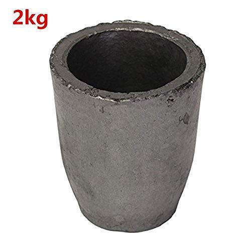 Schmelzwerkzeug, 1-16 kg, Graphit, für Ofen, Gießerei, Tiegel, 2 kg, 2kg