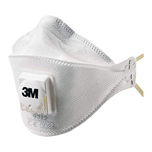 3M 3M-mas-P1-9312 Halbmaske, Weiß (5)