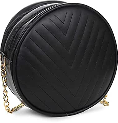 IRMAO New Latest Cute Round Design sling bag Collection for Women & Girls Pack of 1