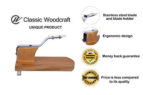 Classic WoodcraftTM Table Top Coconut Scraper