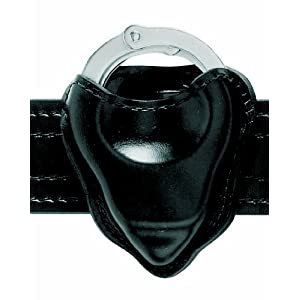 Safariland 090H-22 Handcuff Pouch Open Top For Hinged Handcuffs, Black, Nylon Look