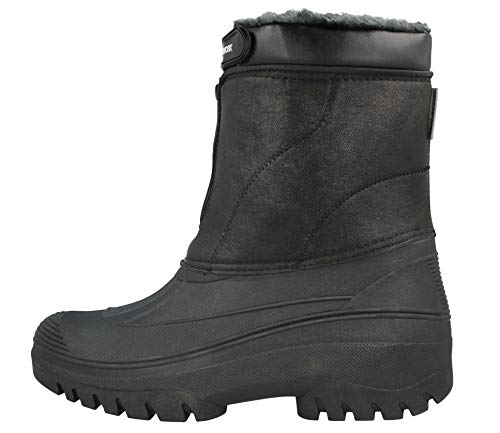 GroundWork LS88 Mens Mucker Stable Yard Waterproof Winter Snow Zip Boots Wellies 2