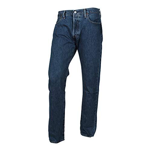 Levi's® Herren Jeans 501® Original Straight Fit Stonewash, Farbe:Stonewash, Größe:W32/L34