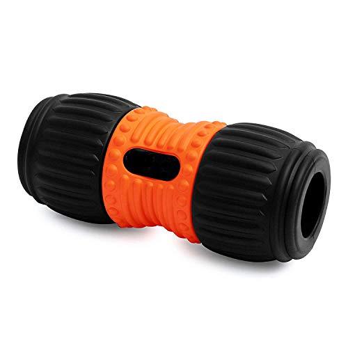 Sports Faszienrolle Ergo Roll mit Einkerbung für die Wirbelsäule | Massagerolle für Verspannungen am Rücken und Muskelentspannung
