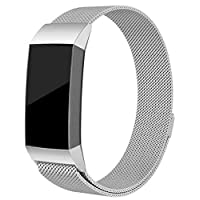 For Fitbit charge 3 Fitness Band Magnetic Milanese stainless steel bracelet Replacement bands For Fitbit charge3 strap