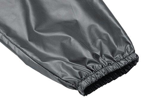 begorey Schnell Trocknend Atmungsaktive Wind- und Wasserabweisende Funktionsjacke Geringes Gewicht Regenjacke Grau