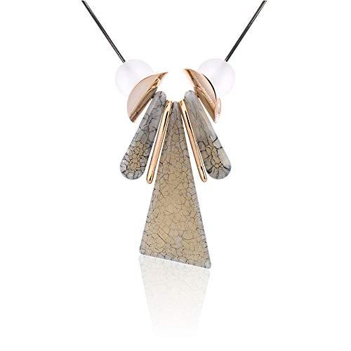 SSLL Halskette Frauen Pullover Halsketten & Anhänger Anweisung Lange Kostüm Halskette Mit Stein Anhänger Für Frauen Schmuck