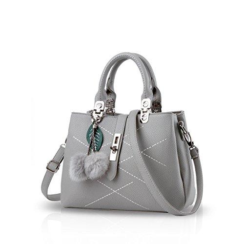 Justawesome Women\'s Handbag(Grey,Ja0001)