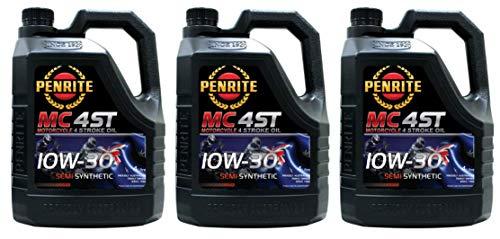 Penrite MC-4 Olio Semi Sintetico 10W-30 per Moto 4 Tempi, 12 Lit