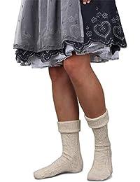GearUp Lange und Kurze Trachtensocken für Damen   Trachtenstrümpfe fürs Oktoberfest   Kniebundhosenstrümpfe passend zu Dirndl oder Lederhose