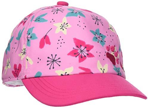 Jack Wolfskin Unisex-Kinder Splash Casquettes Kappe, (Pink Tulip Allover), (Herstellergröße: One Size)