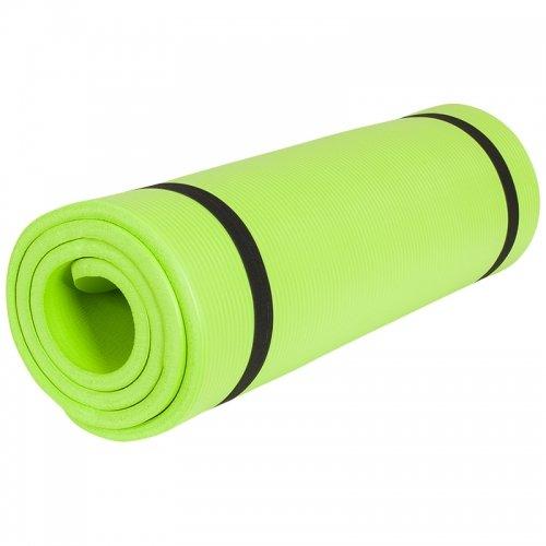 Gorilla Sports Yogamatte in verschiedenen Farben und Größen, Limegreen, 190 x 60 x 1.5 cm, 10000541;509