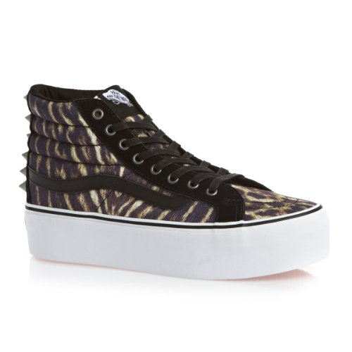 Vans, Sneaker donna Multicolour (studded) Tiger/true Weiß