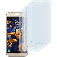 6 x mumbi Schutzfolie für Samsung Galaxy J7 (2017) Folie Displayschutzfolie