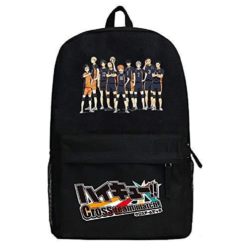 Anime Haikyuu !!Cosplay Bookbag Daypack College Bag Rucksack Schultasche (Color : -, Size : -)