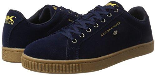 British KnightsDuke - Low-Top Uomo, Blu (Blau (Navy/Crepe)), 44