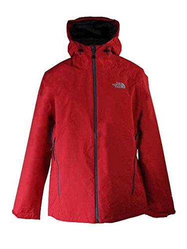 The North Face - M Stratos Jacke, Farbe TNF Red/Vanadis Grey, Größe XL (Und North Jacke Weiße Face Rote)