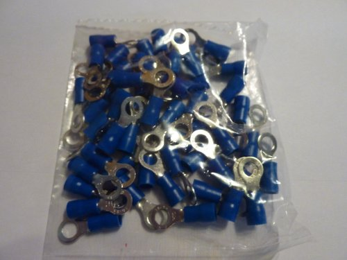 Lot de 50 cosses bleu bague de 5 m de câble ringoese 1, 5-2,5 mm