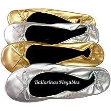 Bailarinas Plegables Talla:M:36,37,38/L:39,