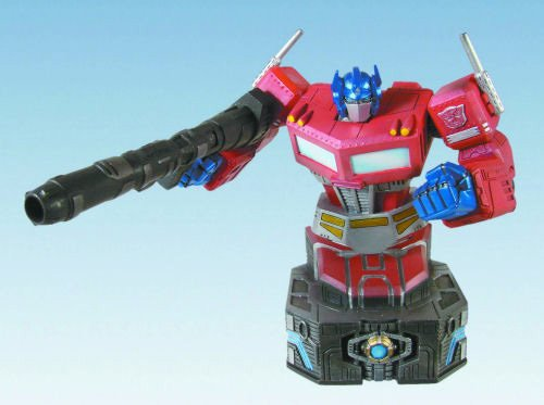 Transformers G1 Optimus Prime Bust